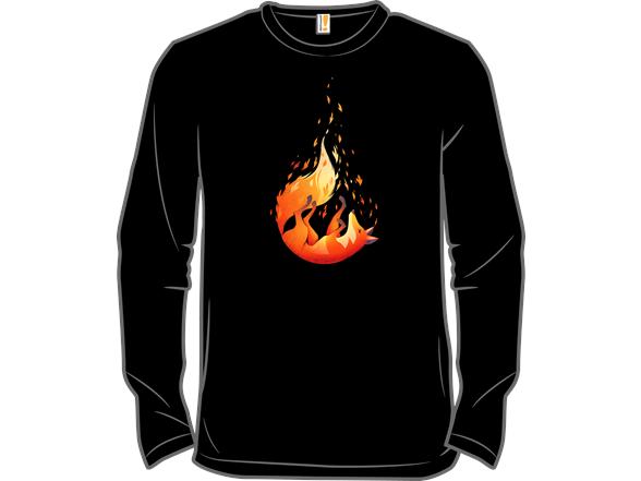 Falling Fox T Shirt