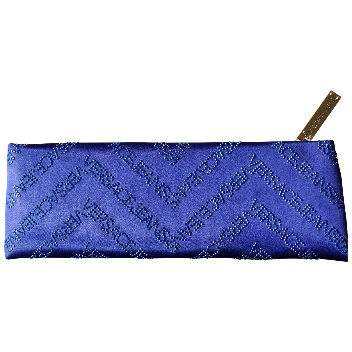 Versace Jeans \N Blue Silk Clutch bag for Women \N