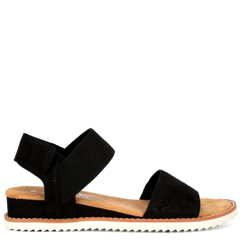 Skechers Bobs Womens Desert Kiss Wedge Sandal