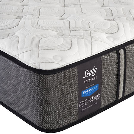 Sealy Pershing Cushion Firm - Mattress Only, One Size , White