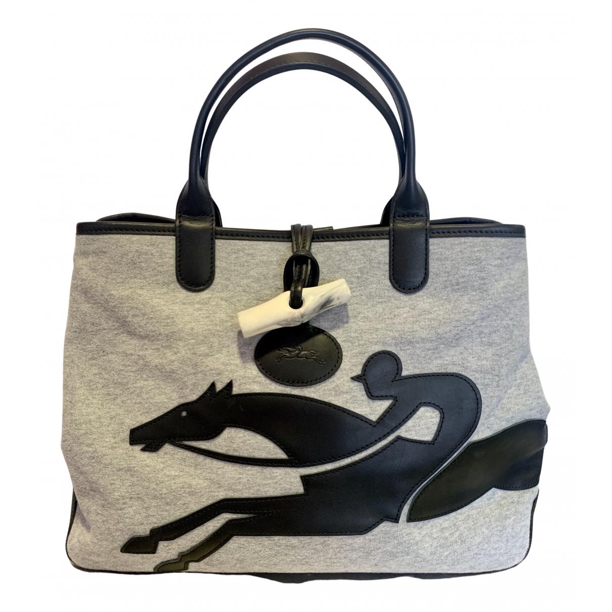 Bolso  Roseau de Lona Longchamp