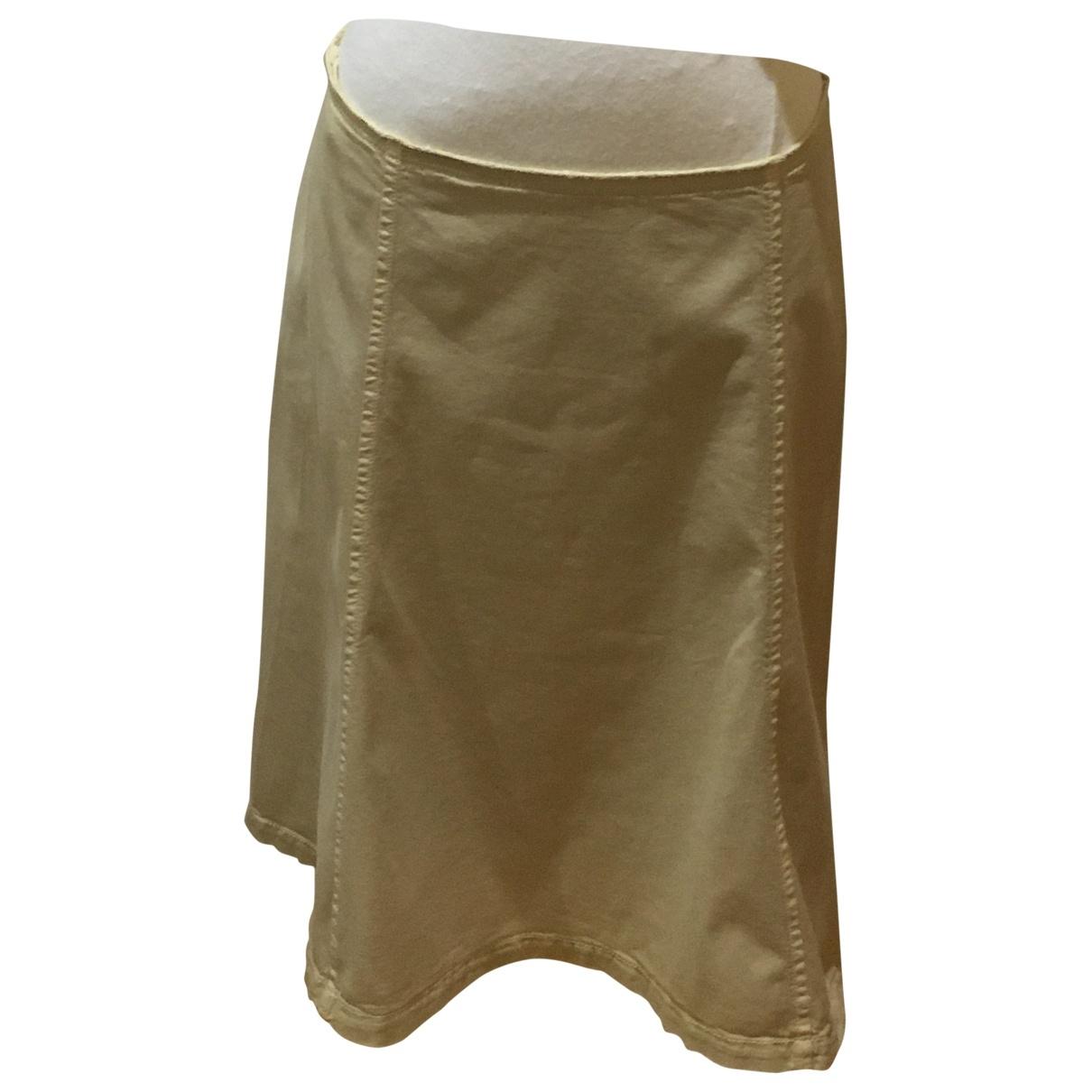 Prada - Jupe   pour femme en coton - camel