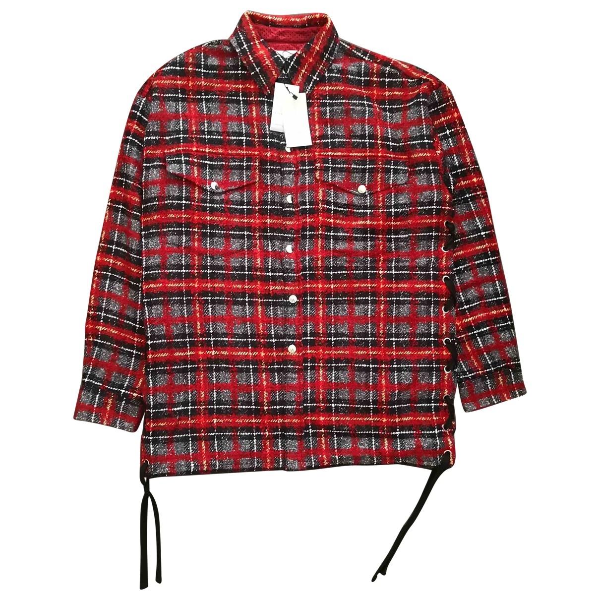 Faith Connexion \N Hemden in  Rot Wolle