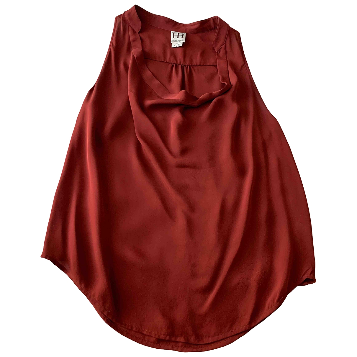 Haute Hippie \N Burgundy Silk  top for Women S International