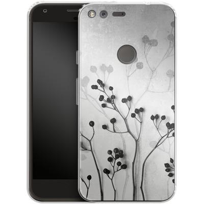 Google Pixel XL Silikon Handyhuelle - Abstract Flowers 5 von Mareike Bohmer