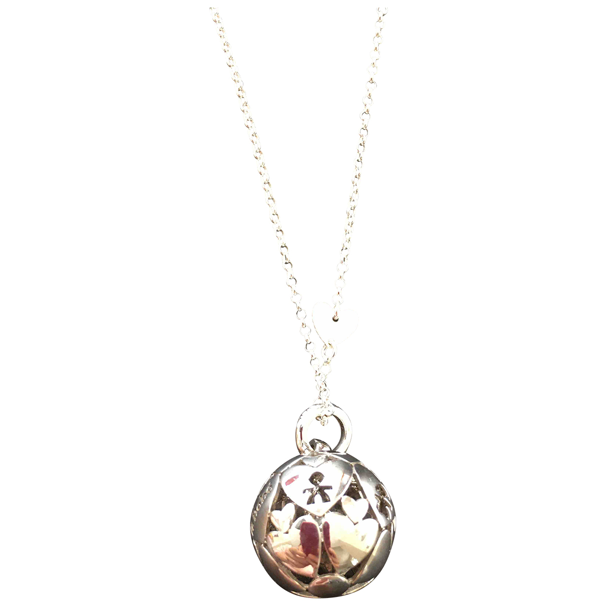 Le Bebe N Silver Silver necklace for Women N