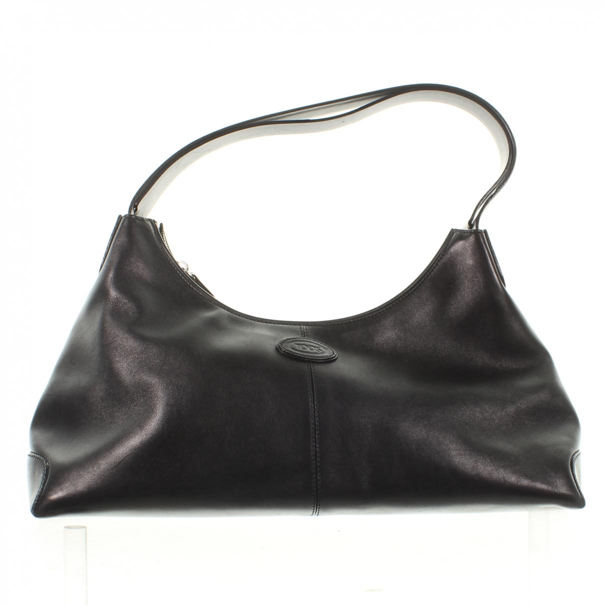 Tod's \N Black Leather handbag for Women \N