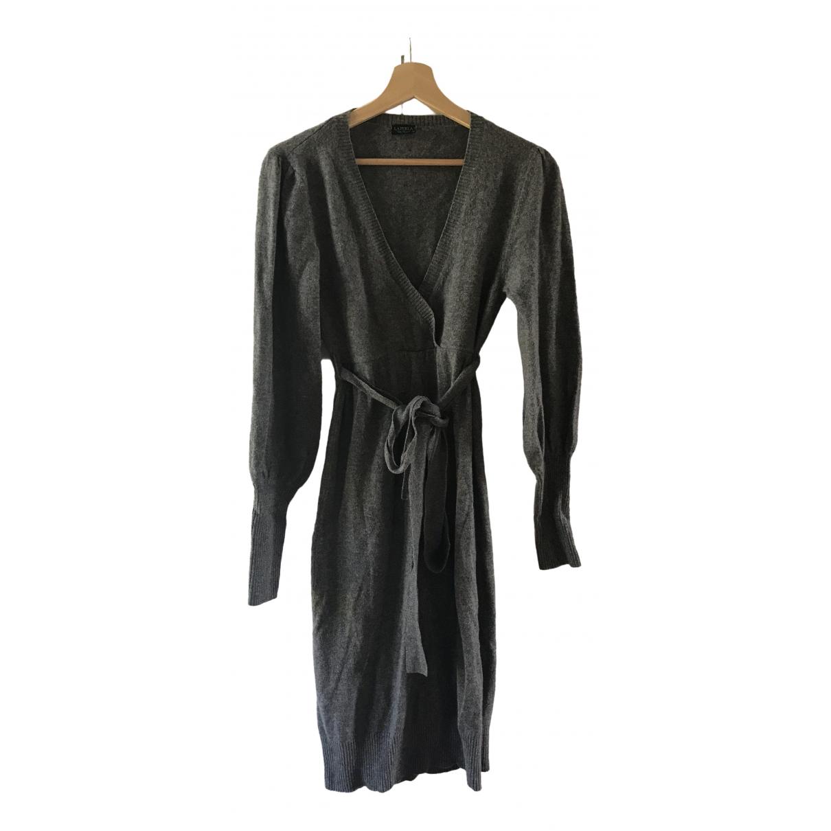 La Perla \N Kleid in  Grau Kaschmir