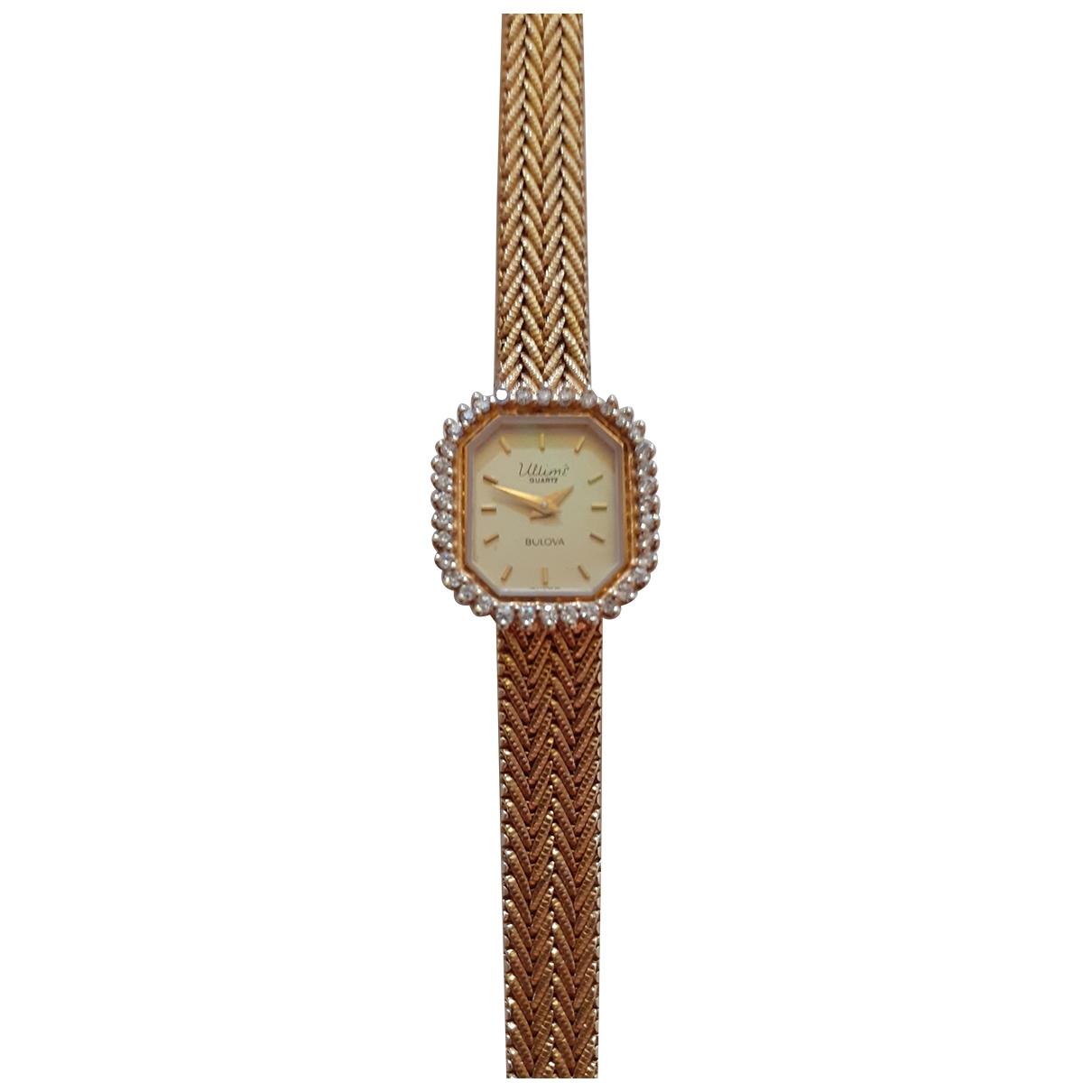 Reloj de Oro amarillo Bulova