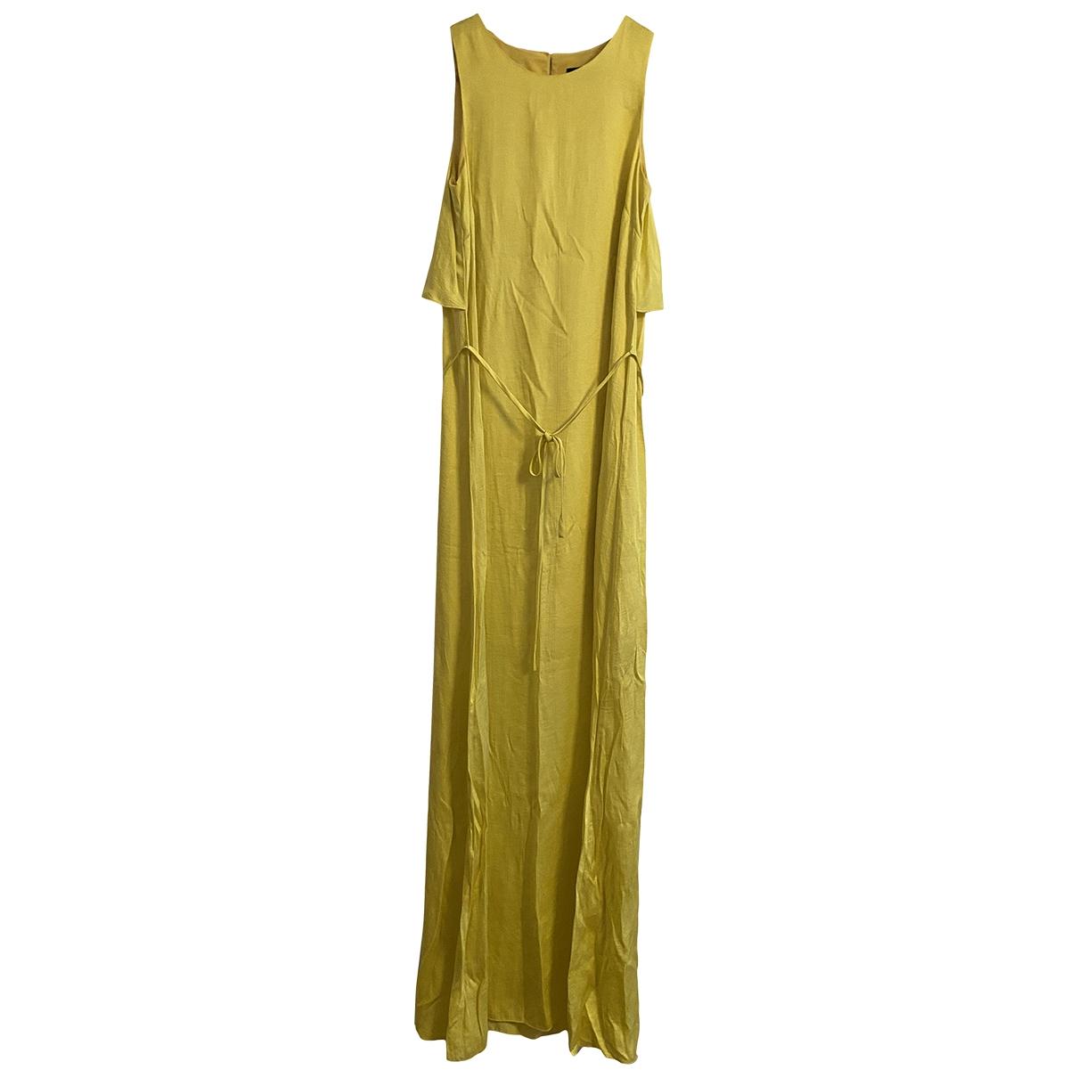 Emporio Armani \N Kleid in  Gelb Polyester