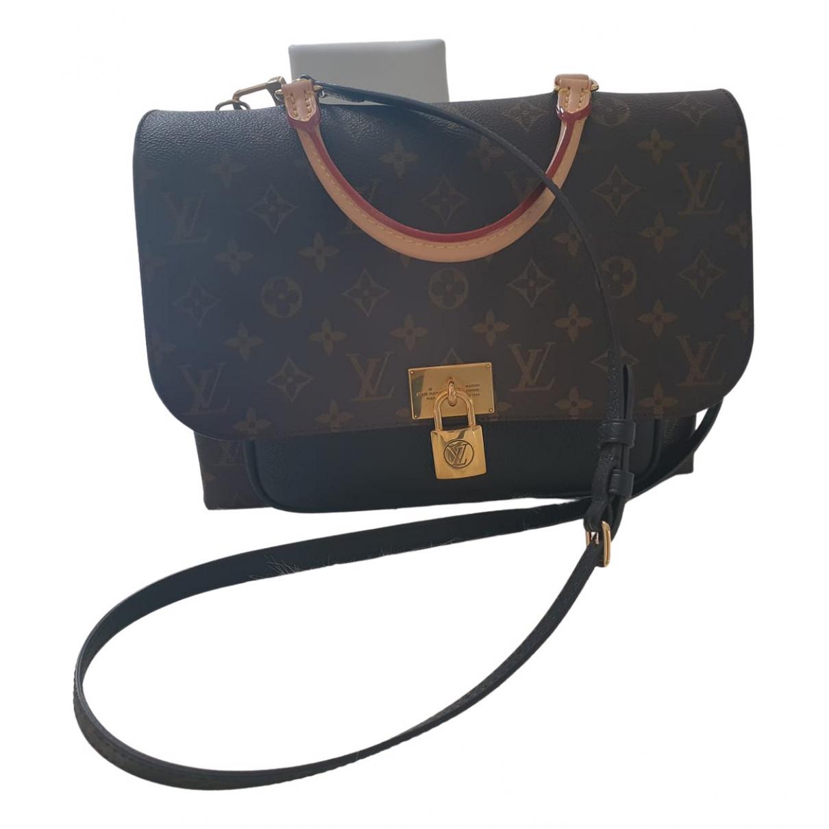 Louis Vuitton Marignan Brown Cloth handbag for Women N