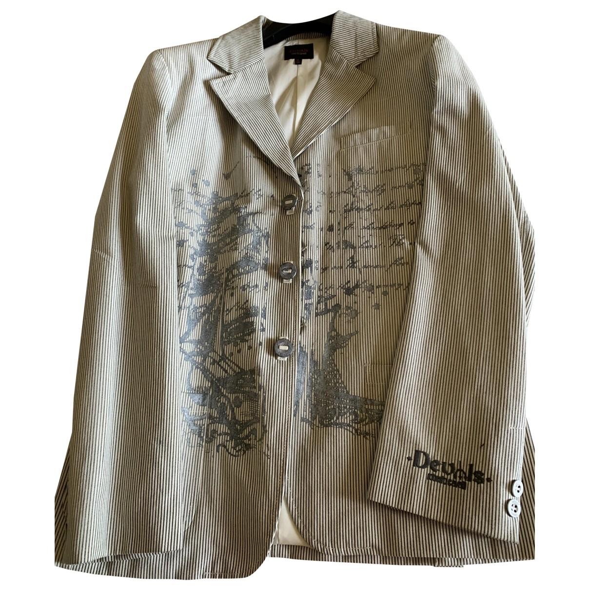 Roberto Cavalli - Blousons.Manteaux   pour enfant en coton - multicolore