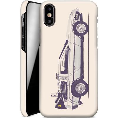 Apple iPhone XS Smartphone Huelle - Delorean von Florent Bodart