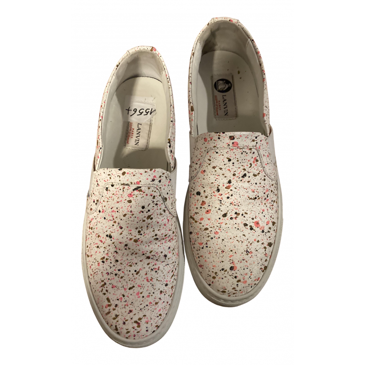 Lanvin \N Sneakers in  Bunt Leinen
