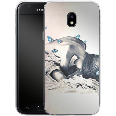 Samsung Galaxy J3 (2017) Silikon Handyhuelle - Bodysnatchers von Kate Powell