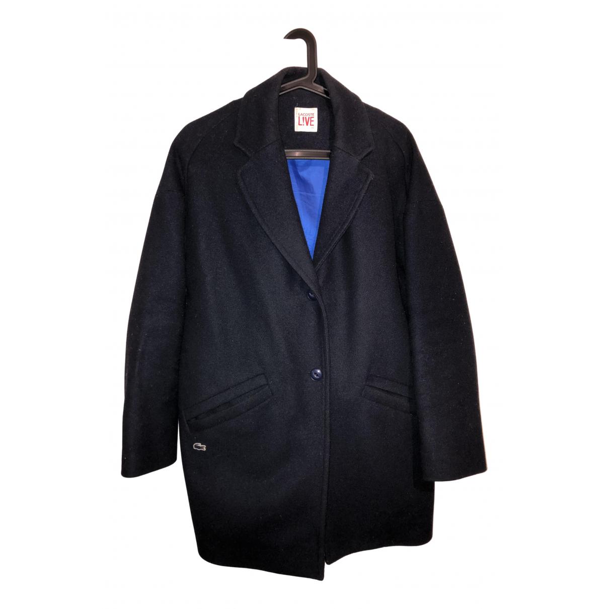 Lacoste N Blue Wool jacket for Women XS International