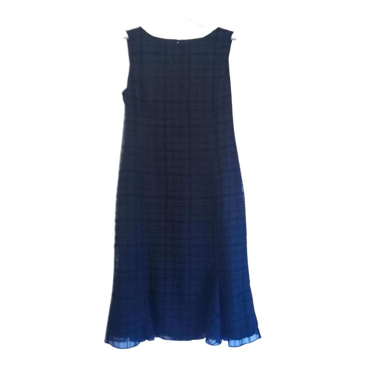 Marella \N Kleid in  Schwarz Seide