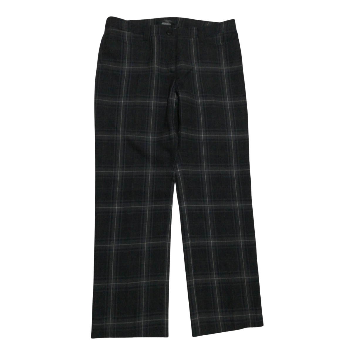 Max Mara Weekend N Multicolour Wool Trousers for Women 48 IT