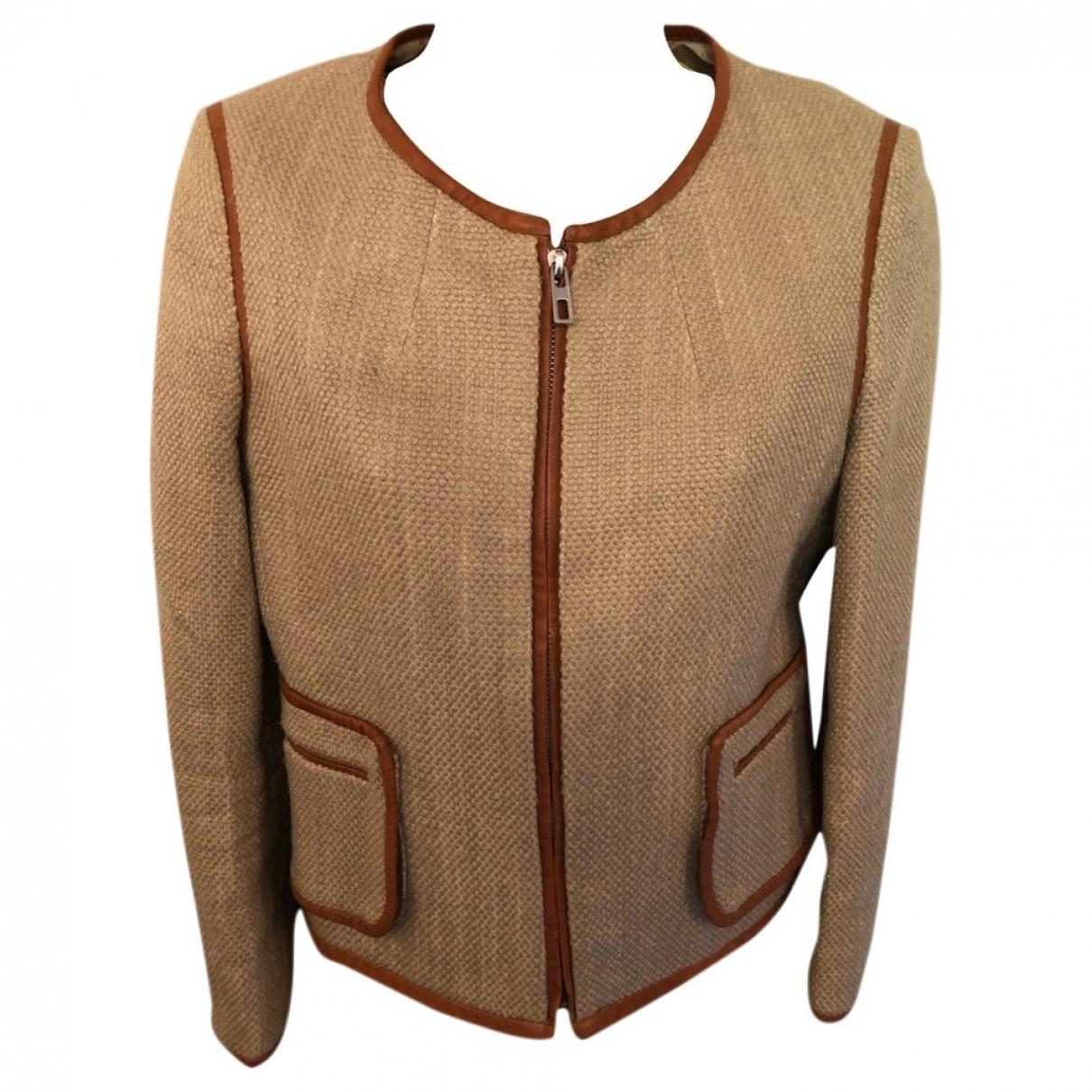 By Malene Birger \N Beige Cotton jacket for Women 36 FR