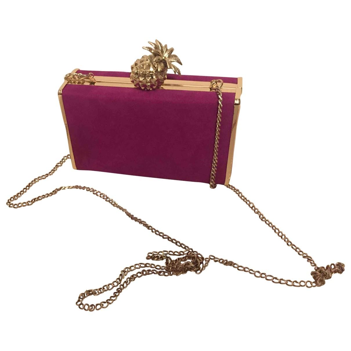 Bolsos clutch en Algodon Rosa Zara