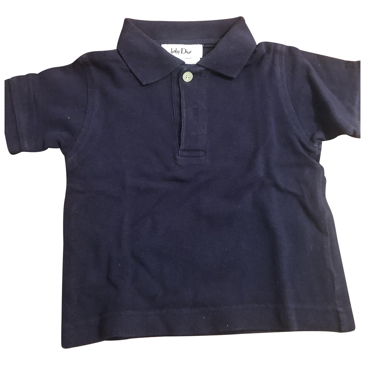 Baby Dior \N Blue Cotton  top for Kids 18 months - up to 81cm FR