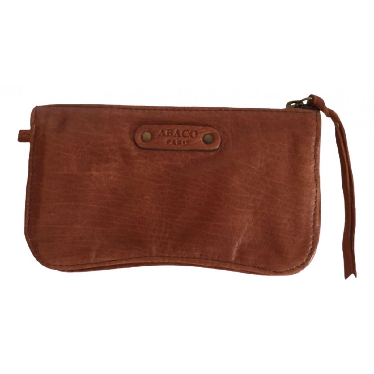 Abaco - Portefeuille   pour femme en cuir - marron