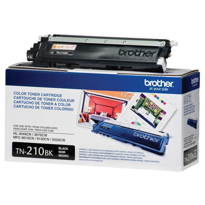Brother TN-210BK Original Black Toner Cartridge