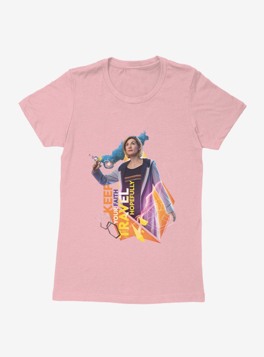 Doctor Who Thirteenth Doctor Keep Your Faith Womens T-Shirt