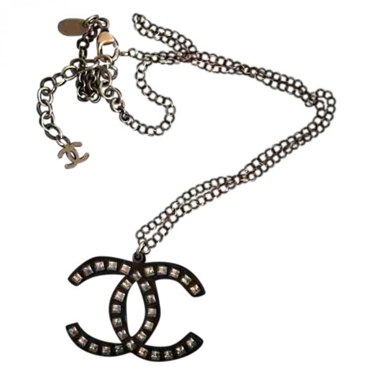 Collar largo CC Chanel