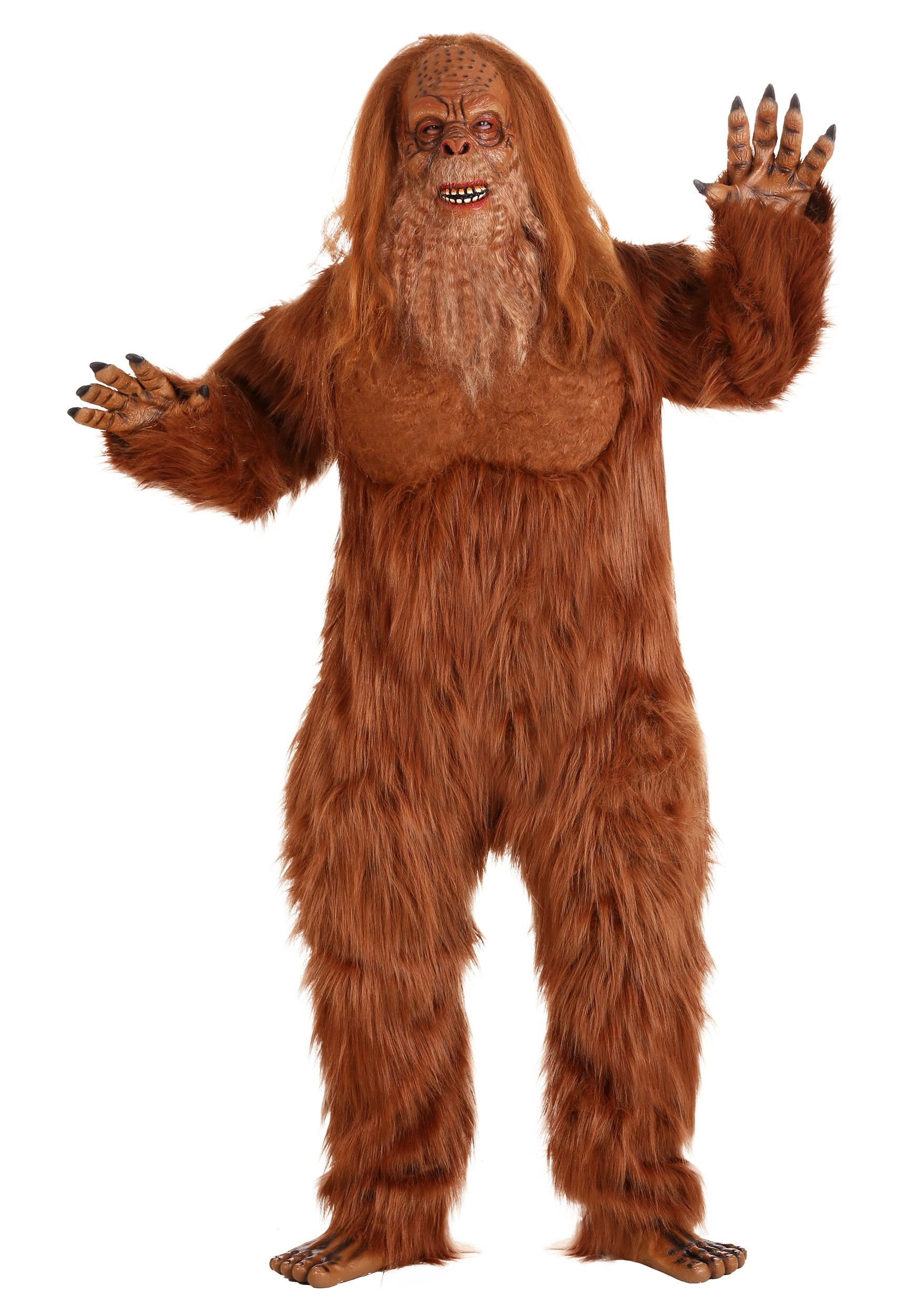 Adult Jack Links Plus Size Sasquatch Costume