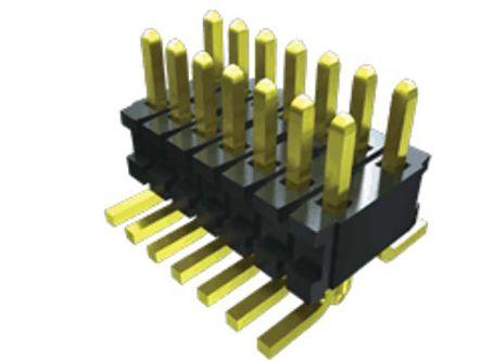 Samtec , FTR, 10 Way, 2 Row, Vertical PCB Header (175)