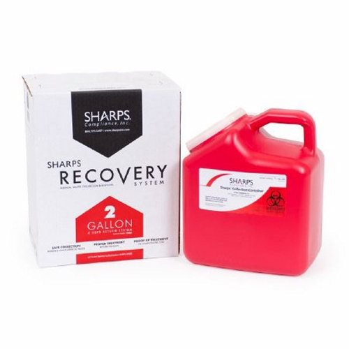 Mailback Sharps Container 2 Gallon - 1 Each by Sharps Compliance