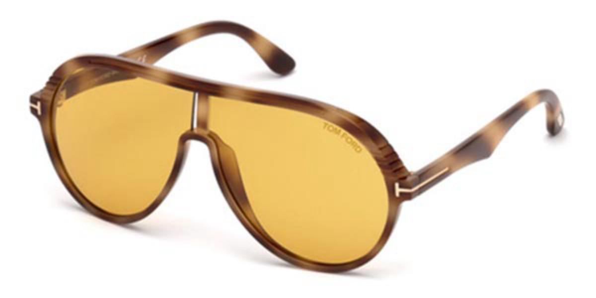 Tom Ford FT0647 57E Men's Sunglasses Tortoise Size 63
