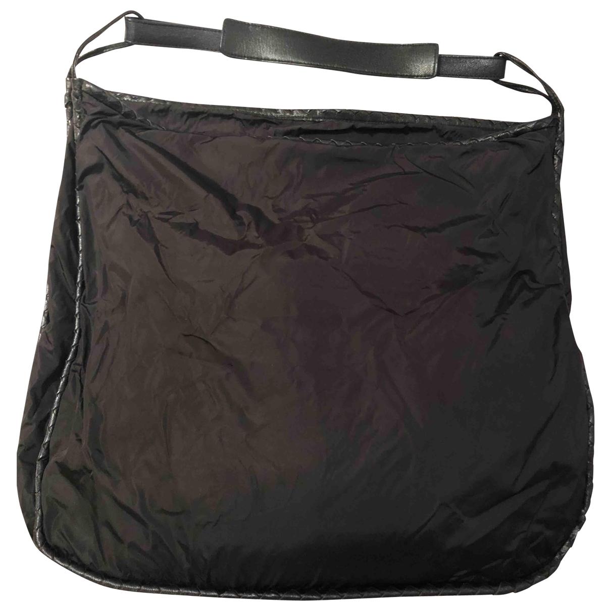 Bottega Veneta \N Black Cloth handbag for Women \N