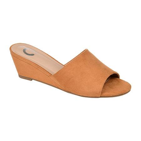 Journee Collection Womens Pavan Slip-On Shoe, 9 Medium, Brown