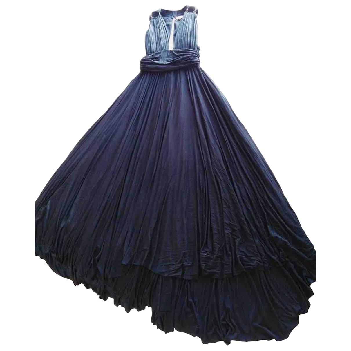 Maria Lucia Hohan \N Kleid in  Schwarz Baumwolle - Elasthan