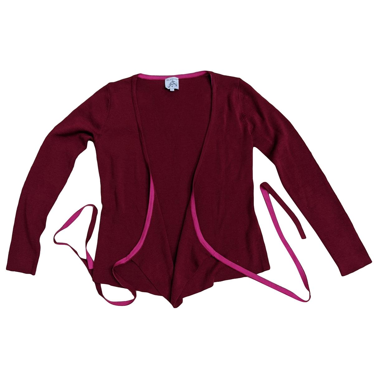 Rue Blanche - Pull   pour femme en laine - rouge