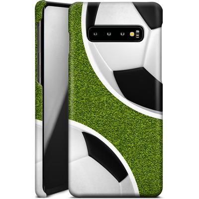 Samsung Galaxy S10 Plus Smartphone Huelle - Two Footballs von caseable Designs