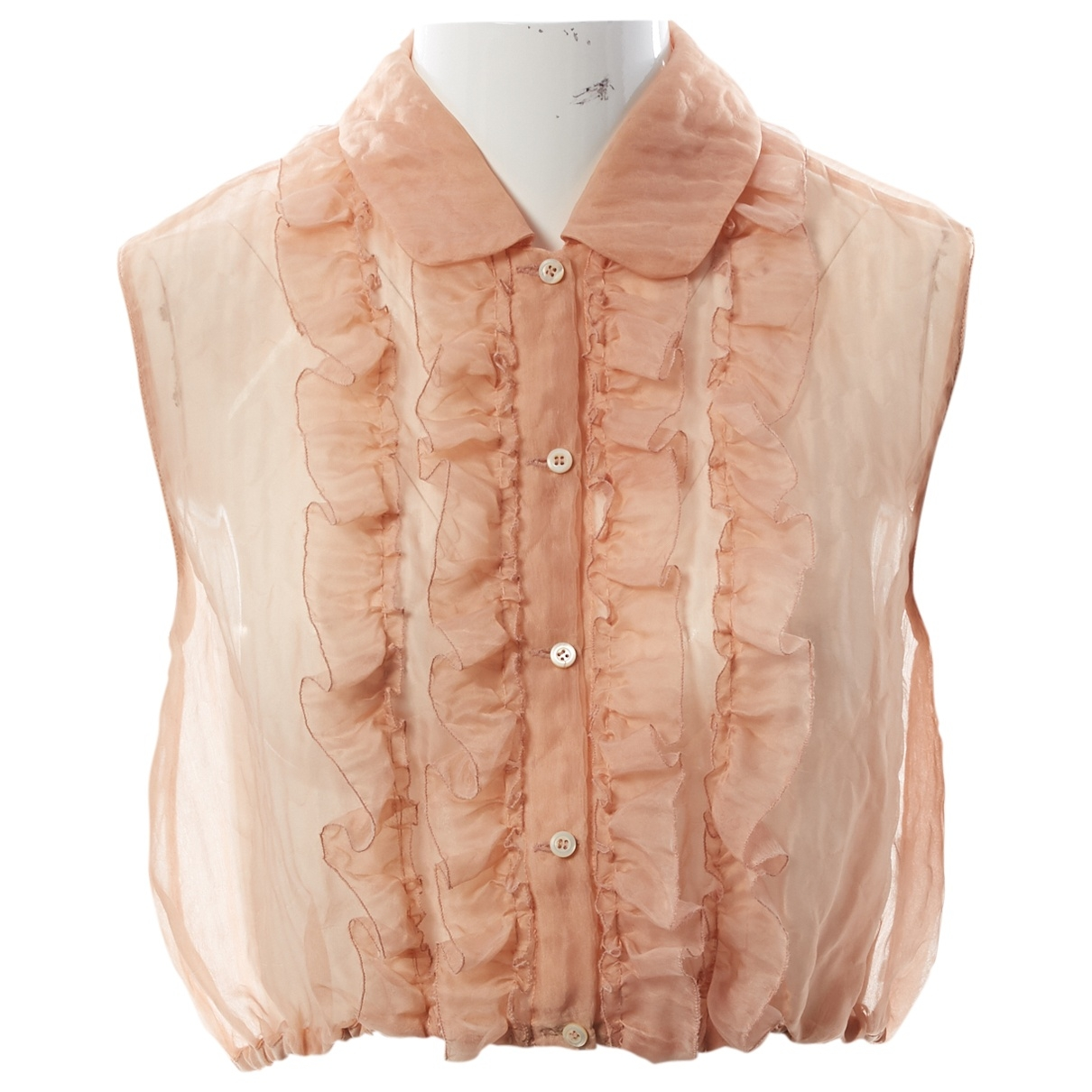 Miu Miu \N Pink Silk  top for Women 42 IT