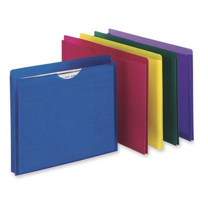 Pendaflex@ Veste en poly polycarbonate translucide, couleurs assorties - lettre