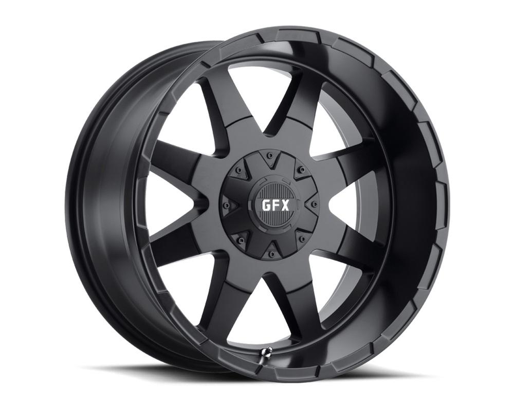 G-FX Wheels T12 290-8165-12 MB TR12 Matte Black Wheel 20x9 8x165.1 12mm