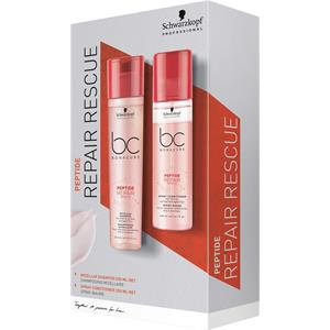 Schwarzkopf Professional Peptide Repair Rescue Spray Conditioner Duo Set Spray Conditioner 200 ml + Micellar Shampoo 250 ml 1 Stk.