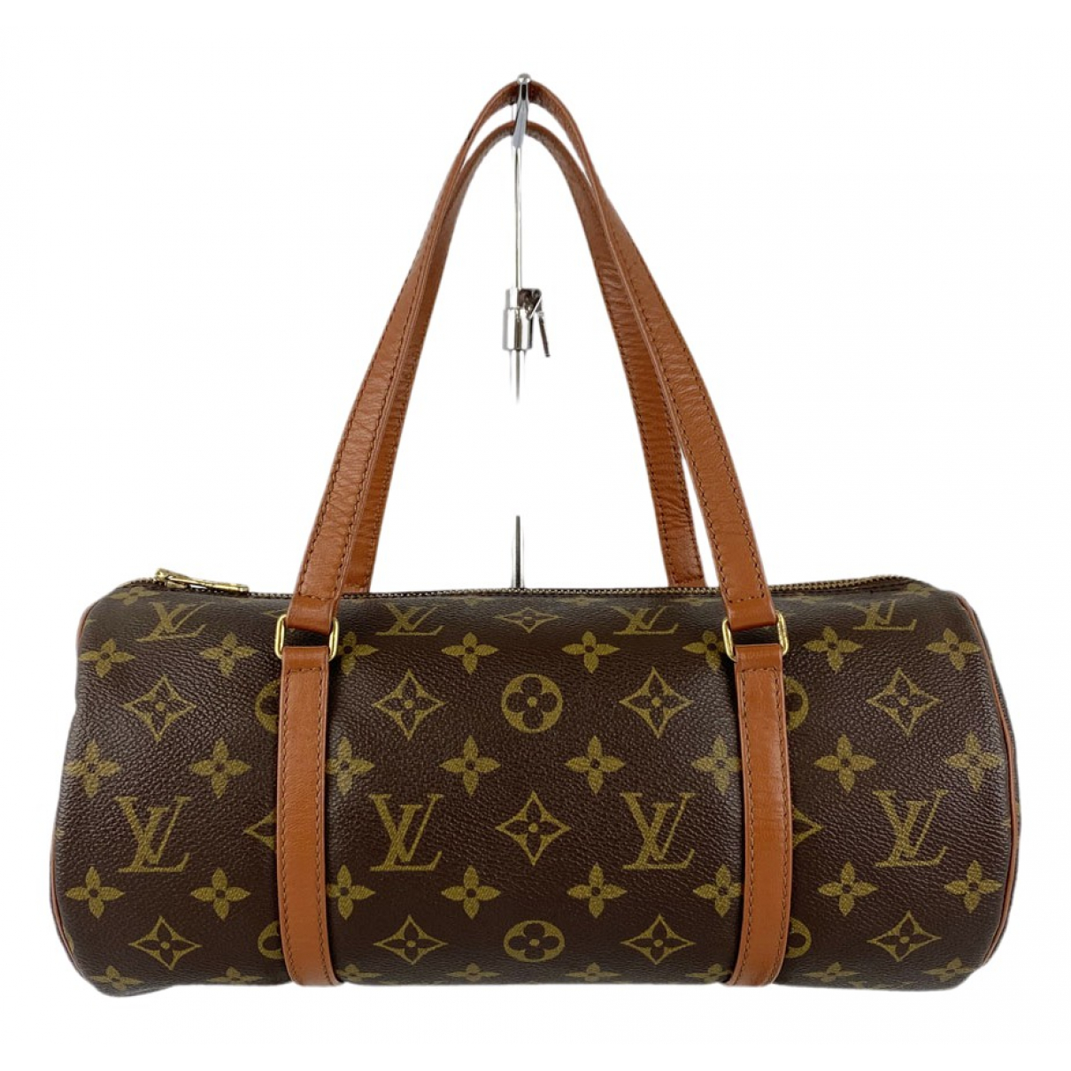 Louis Vuitton Papillon Brown Cloth handbag for Women N