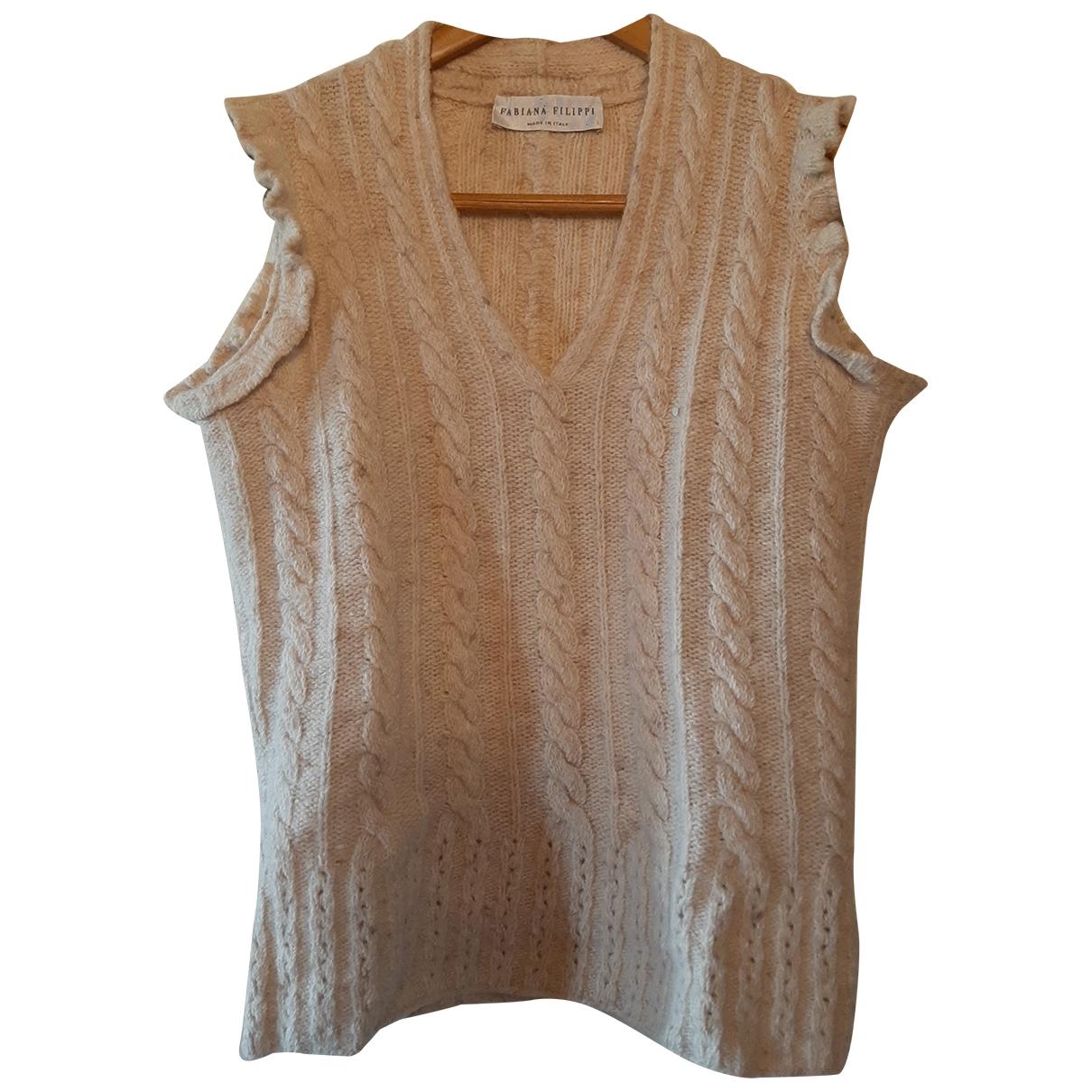 Fabiana Filippi - Pull   pour femme en laine - beige