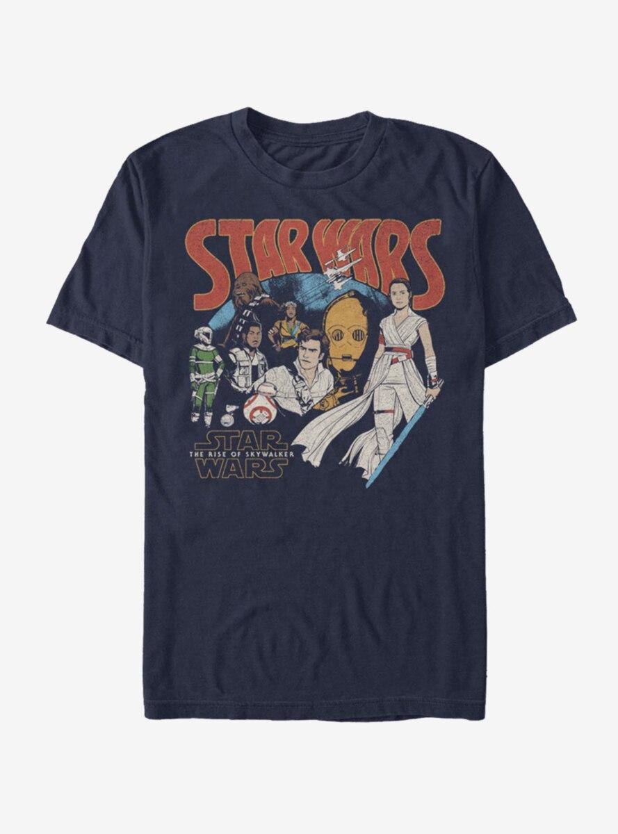 Star Wars Episode IX The Rise Of Skywalker Retro Buddies T-Shirt
