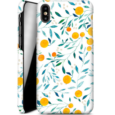 Apple iPhone XS Max Smartphone Huelle - Fresh Citrus  von Iisa Monttinen