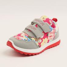 Girls Floral Graphic Sneakers