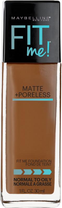 Fit Me Matte + Poreless Liquid Foundation - Cappuccino 340