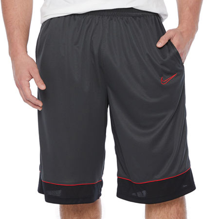 Nike Mens Pull-On Short-Big and Tall, 4x-large Tall , Gray