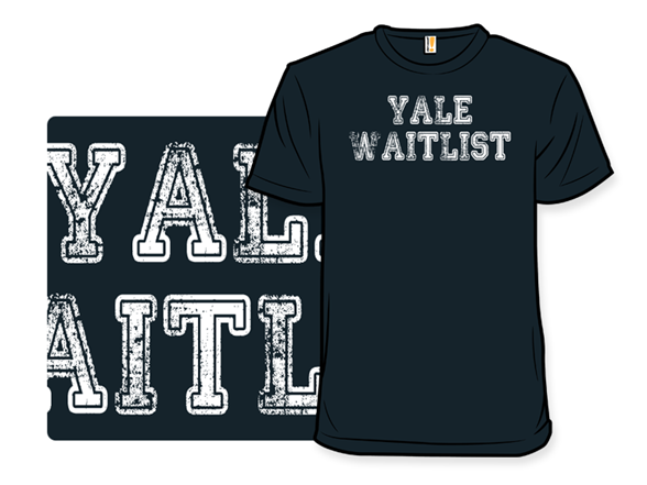 Yale Waitlist T Shirt